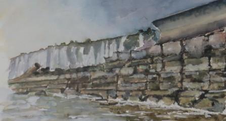 Sea Wall Kingsdown